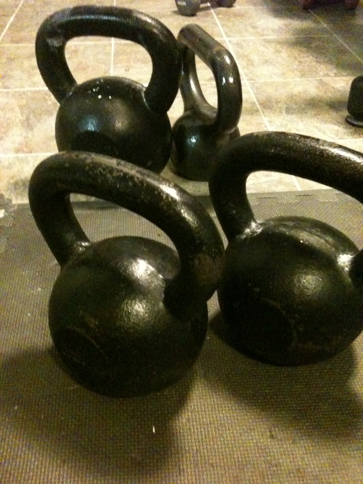 The Problem with Kettlebells ...
